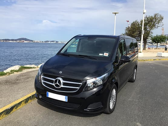 Société de transport de personnes avec chauffeur privé VTC à l'Aéroport de Toulon
