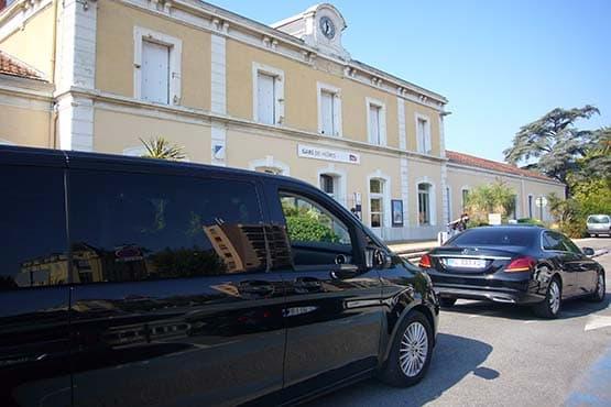 Transfert avec les gares du Var, de la côte d'Azur et de la région toulonnaise width=